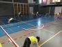 Cvičení se školáky