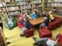 Knihovna - cestování se skřítkem